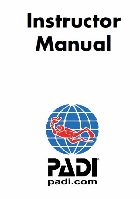 PADI Instructor Manual, sample